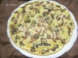 cuisine brochet recette de tarte aux quenelles de brochet et parmesan par cuisinette