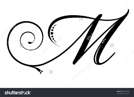 Letter M Stock Photos Images Pictures Shutterstock Initials