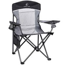 ALPHA CAMP Oversized Mesh Back Camping Folding Chair Heavy Duty Support 350  LBS Collapsible Steel Frame Quad Chair Padded Arm Chair With Cup Holder ... Ideas Home Depot Folding Chairs For Your Presentations Or Fashion Collapsible Beach Chair Fishing Bbq Stool Camping Outdoor Fniture Helinox Savanna Highback Camp Moon Breathable Seat Vintage German Lbke Vono Tan Orange Rectangular Genuine Leather Sling Modernist Mid Century Modern Hlsta Loft Portable Table And Set Built In Or Hot Item Foldable Details About 2x Festival New Directors Alinium Pnic Director Navy Ever Advanced Oversized Padded Quad Arm Steel Frame High Back With Cup Holder Heavy Duty Supports 300 Lbs Amazoncom Goplus Swivel