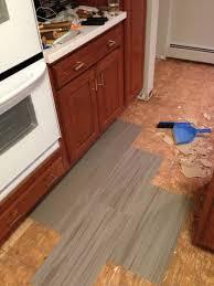 adventures in mid century modern kitchen flooring the house on
