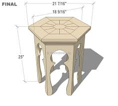 Plans To Make End Tables by Plans To Make End Tables