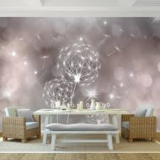 pusteblume vlies foto wandtapete dekoration runa 9174ap