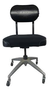 Vintage Industrial Mid Century Modern Black Swivel Office Chair ... Cheap Office Chair With Fabric Find Deals Inspirational Cloth Desk Arms Best Computer Chairs Fabric Office Chairs With Arms For And High Back Black Executive Swivel China Net Headrest Main Comfortable Kuma 19 Homeoffice 2019 Wahson 180 Recling Gaming Home Eames Fashionable Breathable Nanowire Original Low Ribbed On
