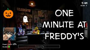 Kxvo Pumpkin Dance Spooky Scary Skeletons by One Minute At Freddy U0027s Halloween Edition Youtube