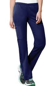 cherokee workwear originals women s natural rise flare leg scrub pants