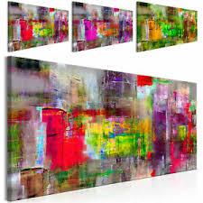 details zu vlies leinwand bilder abstrakt pop moderne kunstdruck wandbilder wohnzimmer