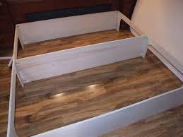 diy platform bed with storage plans u2014 modern storage twin bed