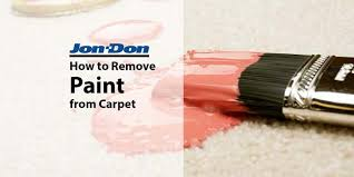 How Remove Paint From Carpet by How To Remove Paint From Carpet Jon Don