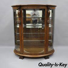 light wood tone original antique china cabinets ebay