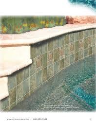 6x6 Glass Pool Tile by Longust Pool Tile Catalog 2010