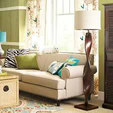 Brown And Aqua Living Room Pictures by Brown Twist Floor Lamp Pier 1 Imports