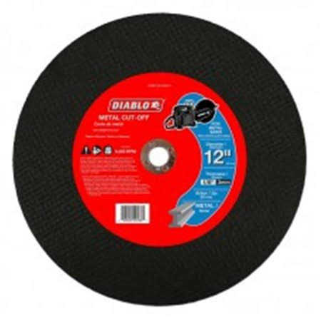 "Diablo Metal Cut-Off Blade - 12""x1/8""x20mm"