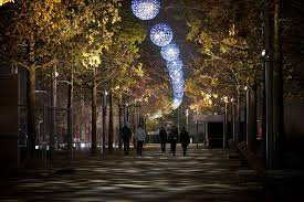 Delancey Street Christmas Trees Berkeley by Queen Elizabeth Olympic Park New London Development