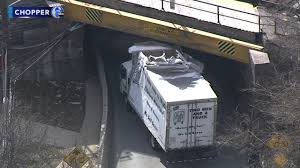 100 2 Man And A Truck Slams Into Railroad Overpass In Radnor 4th Incident Since