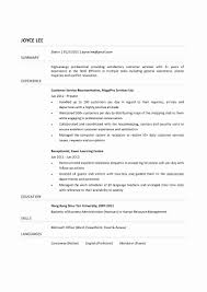 Volunteer Experience On Resume Fresh Work Examples For New
