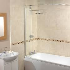 splash guard shower screen with rail cool products pinterest