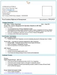 Ideas Of Mba Fresher Resume Format Marketing Easy Title Examples For Freshers Resumes