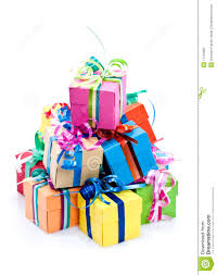 Gift clipart colorful 3