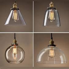 neue retro glas deckenleuchten led len wohnzimmer esszimmer zimmer led deckenleuchte e27 led licht glanz decke lichter