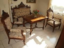 gründerzeit sofagarnitur 2 sessel und tisch