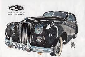 Drawing Old Cars In Las Palmas Jaguar 140224