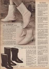 go go boots a la 1966 carla at home