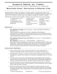 Resume Samples For Registered Nurses Nurse Sample Newly Without Experience Philippines