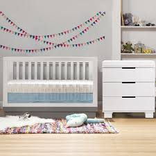babyletto 2 piece nursery set acrylic harlow 3 in 1 convertible