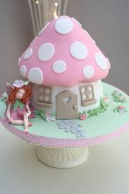 Fairy Toadstool Cake part of our Enchanted Garden Range
