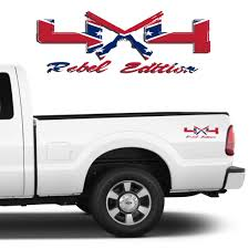 100 Ford Truck Decals 4X4 Rebel Edition Shotgun Vinyl Fits S 20082017