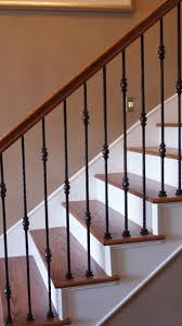 Best 25+ Iron Balusters Ideas On Pinterest | Iron Stair Balusters ... How To Calculate Spindle Spacing Install Handrail And Stair Spindles Renovation Ep 4 Removeable Hand Railing For Stairs Second Floor Moving The Deck Barn To Metal Related Image 2nd Floor Railing System Pinterest Iron Deckscom Balusters Baby Gate Banister Model Staircase Bottom Of Best 25 Balusters Ideas On Railings Decks Indoor Stair Interior Height Amazoncom Kidkusion Kid Safe Guard Childrens Home Wood Rail With Detail Metal Spindles For The