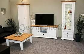 wohnzimmer komplett 4teilig anbauwand couchtisch buche weiß