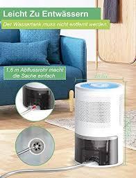 manwe 1 8l luftentfeuchter elektrisch entfeuchter raumentfeuchter leise dehumidifier luftreinigung und gegen feuchtigkeit schimmel schadstoffe