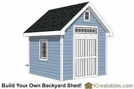 Garden Shed Plans Backyard Shed Designs Building a Shed