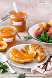 pfirsich marmelade rezept mit vanillelikör nicest things