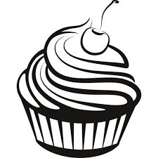 1024x1024 Simple Cupcake Drawing Cupcake Drawings And Cupcakes Clipart