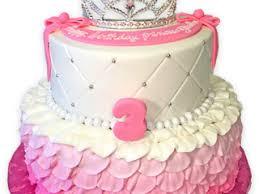 Princess Custom Birthday Cake with crown