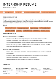 Internship Resume Samples & Writing Guide | Resume Genius High School Resume Examples And Writing Tips For College Students Seven Things You Grad Katela Graduate Example How To Write A College Student Resume With Examples University Student Rumeexamples Sample Genius 009 Write Curr Best Objective Cv Curriculum Vitae Camilla Pinterest Medical Templates On Campus Job 24484 Westtexasrerdollzcom Summary For Professional Lovely