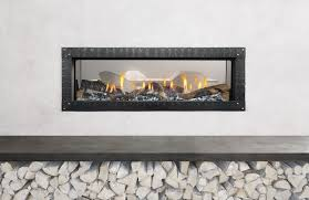 Hearth Patio And Barbecue Association Of Canada by Linear Fireplaces Trend Up U2014even Behind Barrier Screens