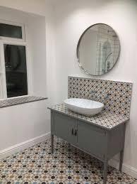 customer style focus s statement bathroom walls and floors