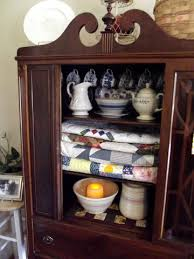 HOMEMAKING DREAMS Decorating With Mama s Antique China Cabinet
