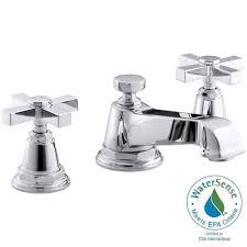 Kohler Memoirs Bidet Faucet by Cross Kohler Bathroom Faucets Bath The Home Depot