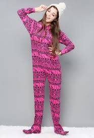 hello kitty geo pajama onesie shop holiday gift ideas at papaya