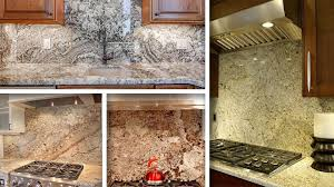 Kitchen Countertops And Backsplash Pictures Granite Backsplash In Kitchen Pros And Cons Of Installation