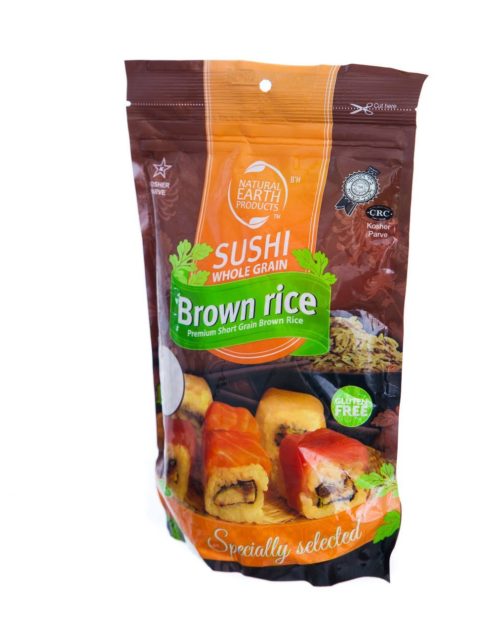 Natural Earth Rice Sushi Whole Grain Brown Rice