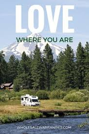 RV Camping Quote And Great Travel
