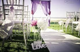 Outdoor Wedding Ideas With Flower Garden