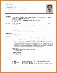 Science Graduate Resume Sample 57 Luxury Pics Of Format For Lecturer In Computer