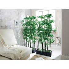 Amazon Uk Living Room Curtains by Artificial Bamboo Plant Room Divider Approx 140 Cm High Amazon