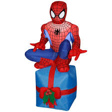 Halloween Inflatable Spider Archway by Airblown Inflatable Spider Man Scene